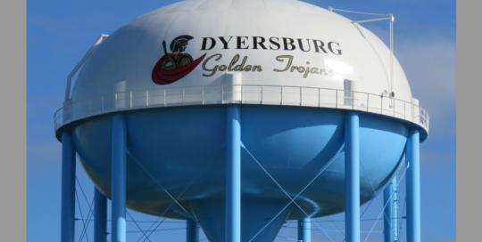 Dyersburg Water Tower